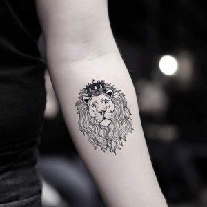 tatuajes con leones rey