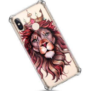 funda de movil con leones