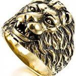 anillos con leones
