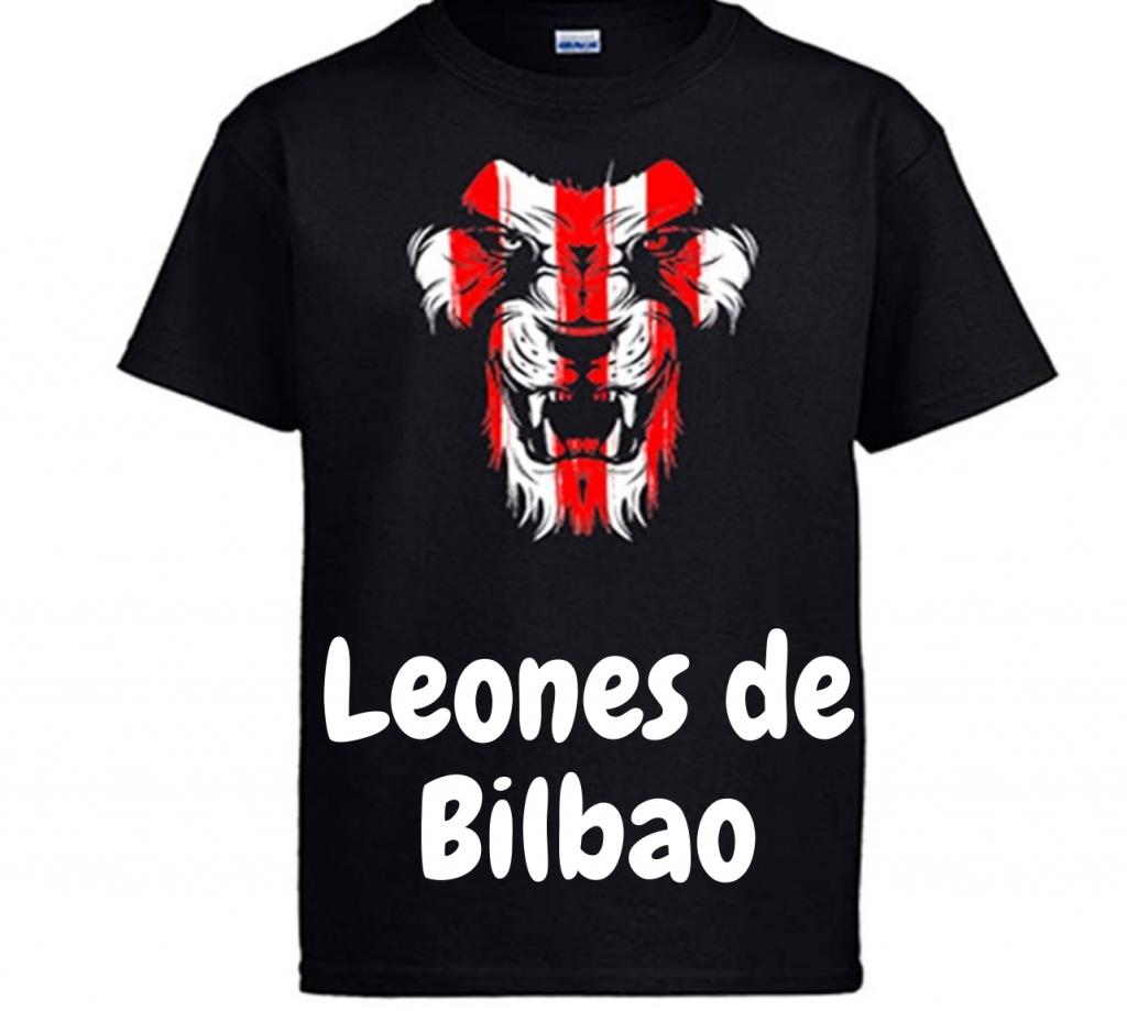 Camisetas con leones de Bilbao