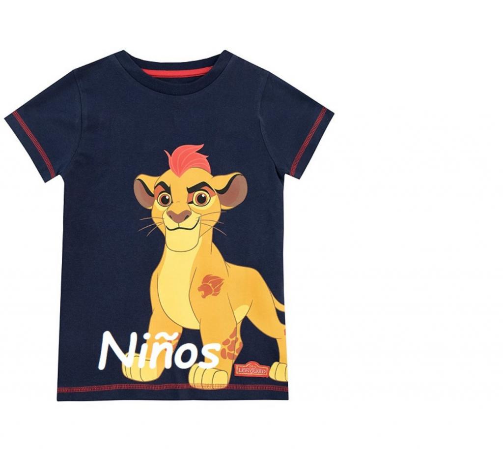 camiseta kion con leones