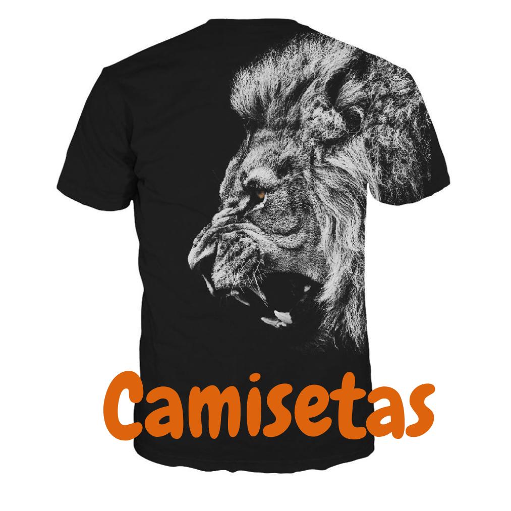 Camisetas con leones