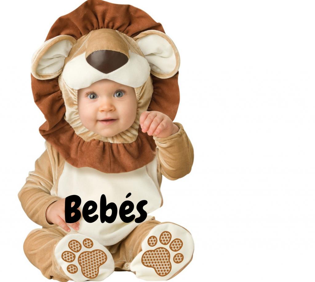 Disfraces de bebe con leones