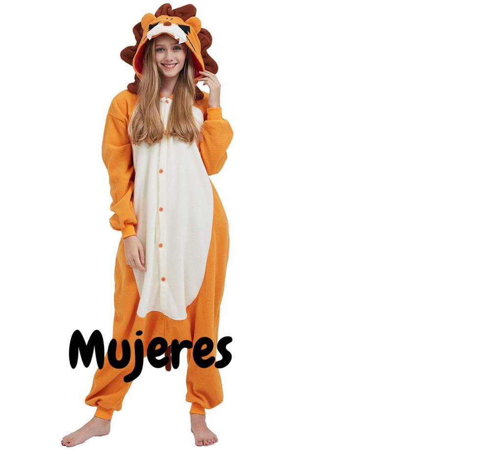 Disfraces mujeres leones