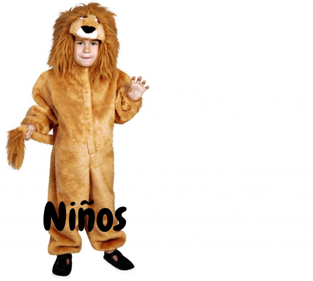 Disfraces niños leones