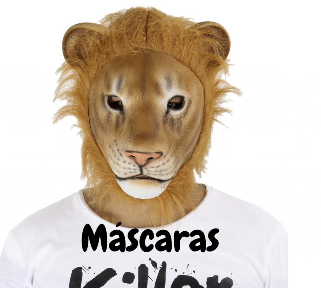 mascaras con leones