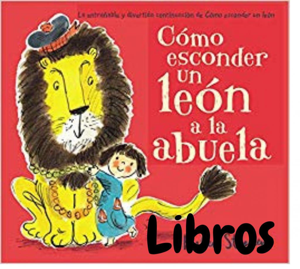 libros y cuentos con leones